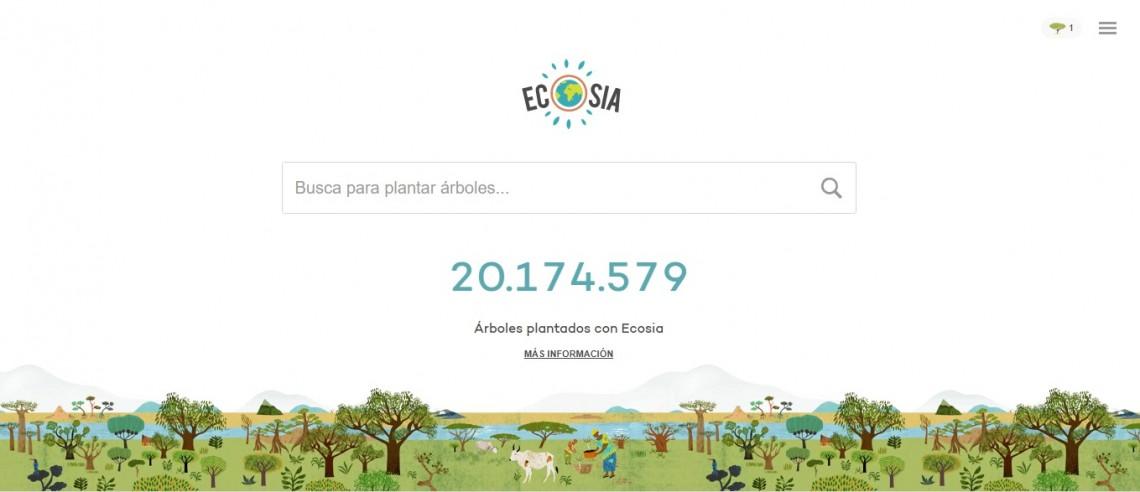 Ecosia-buscador-ecológico