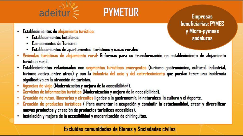 Ayudas empresas turísticas Andalucía 2018