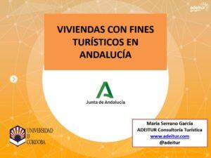 Viviendas con Fines Turísticos, regulación en Andalucía